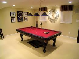 furniture charming basement game room decorating ideas walls