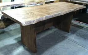 Live Edge Boardroom Table Live Edge Furniture Made In The Usa Custom