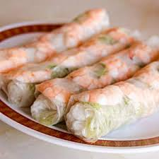 rice paper wrap rice paper wrapped salad rolls recipe appetizer snack dip