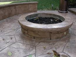 Concrete Firepit Concrete Pit Concrete Pits In Decorative Concrete Sos