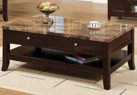 coffee tables appealing thomasville marble top coffee table