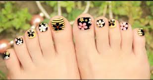 35 simple u0026 easy toe nail art designs u0026 ideas