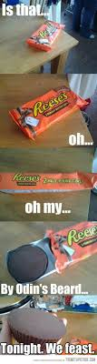 Reeses Meme - tonight we feast humor random and stuffing