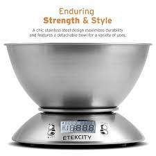 amazon com etekcity digital kitchen scale multifunction food