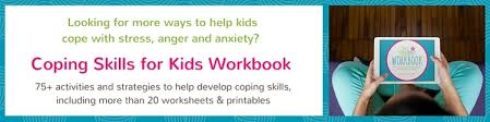 Coping Skills For Anxiety Worksheets Coping Skill Spotlight 5 4 3 2 1 Grounding Technique Coping