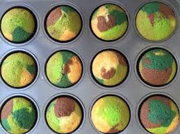 veterans day camouflage cupcakes the chic site