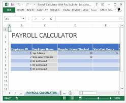 pay stub template free word pdf excel format documents