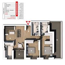 3 rooms apartment type 7 21downtown ro