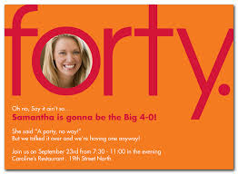 how to make 40th birthday party invitations u2014 all invitations ideas