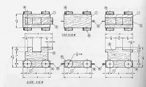 Wooden Train Table Plans Free by Vintage Wooden Toy Plans Bing Images Occ Shoebox Pinterest