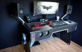 Custom Gaming Desks Pc Gaming Computer Desk New Furniture Regarding Gamer Computer