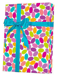 turquoise wrapping paper candy confetti gift wrap innisbrook wrapping paper