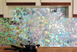 Stained Glass Backsplash by 15 Easy To Make Diy Kitchen Backsplash Ideas You Need To See