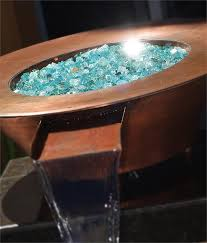 Fire Pit Glass by South Coast Premixed Diamond Fire Pit Glass 25 Lb Crystal