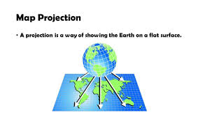 Map Projection Parts Of A Map Map Projection A Projection Is A Way Of Showing