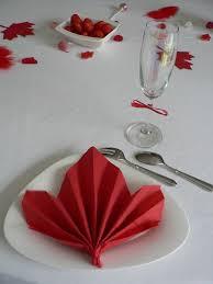 deco table marin déco de table thème canada kézako déco