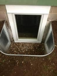 Basement Windows Toronto - metal well anderson window egress window pinterest metals