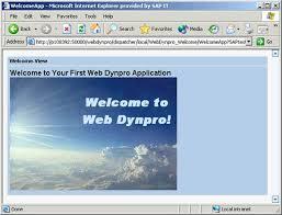 tutorial java web dynpro creating a simple web dynpro application sap library using java