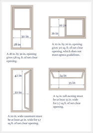 pictures of minimum size double hung window for egress joey u0027s