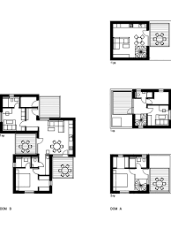 plans for a house gallery of 3 3 family houses endorfine office 34