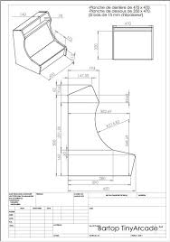 arcade cabinet plans pdf bartop arcade cabinet plans diy woodworking plans and projects