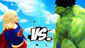 hulk red hulk epic superheroes battle