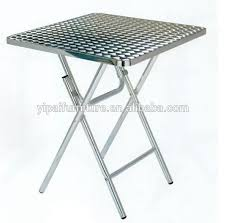 Stainless Steel Folding Table Stainless Steel Folding Table Breakfast Study Aluminum Foldable