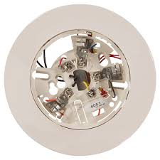 conventional spot type smoke detector bases system sensor
