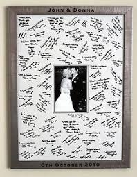 wedding signing board large engraved framed guest signing board wedding guest book