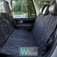 protection siege auto arriere protection siège arrière et coffre de voiture pour chien