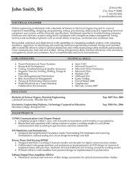 Technical Proficiencies Resume Examples by Resume Examples Electrical Engineering Resume Template Mechanical