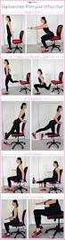 Yoga At The Office Desk Desk Workouts Decorative Desk Decoration
