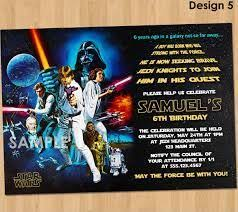 19 best star wars birthday invitations images on pinterest
