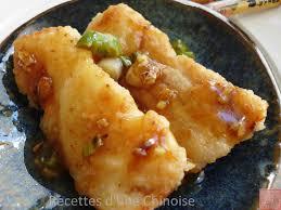 chinois pour cuisine recettes d une chinoise cabillaud aux cinq parfums 五香鳕鱼 wǔ