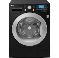lg fh495bdn8 12kg washing machine with 1400 rpm black