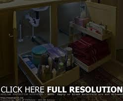 under kitchen sink storage ideas under cabinet storage ideas for bathroom house design ideas