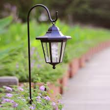 solar lights light sensor 26 h solar led lantern landscape pathway lighting