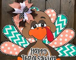 thanksgiving door etsy