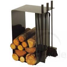buche de cheminee serviteur range bûches en acier laqué artigo o u0027poêle