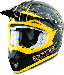 rockstar energy motocross gear amazon com answer nova rockstar youth helmet primary color