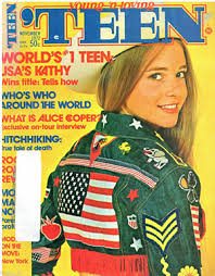 model teen modeling tv alice these 13 teen magazine covers from the 1970s will take you back