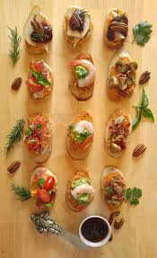 crostini recipes easy crostini party appetizers crudites
