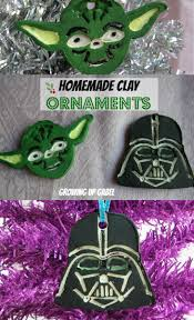 homemade clay christmas ornaments star wars style