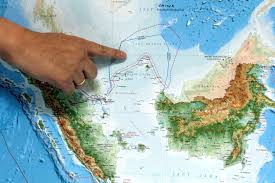 Indonesia On A World Map by Asserting Sovereignty Indonesia Renames Part Of South China Sea
