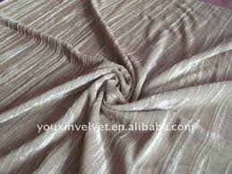 Gray Velvet Upholstery Fabric 100 Polyester Pleated Velvet Fabric For Upholstery Buy Striped