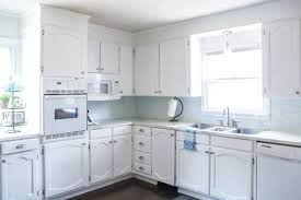 how to touch up white gloss kitchen cabinets my painted cabinets two years later the the bad the