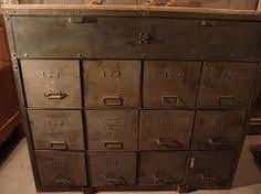 Vintage Metal Storage Cabinet Vintage Industrial Metallic Blue Metal Storage Cabinet By Epochco