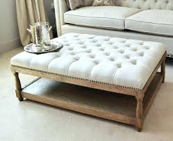 Big Ottoman Large Square Ottoman Coffee Table Lifeunscriptedphoto Co
