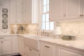 backsplash with white kitchen cabinets awesome kitchen backsplash imagescapricornradio homes
