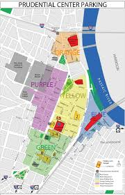 newark map prudential center getting here